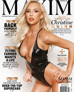Christine Quinn For Maxim AU