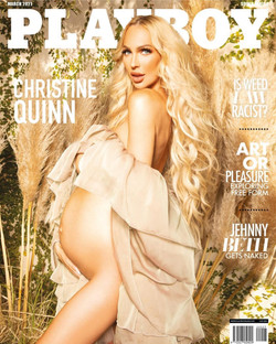 Christine Quinn For Playboy SA
