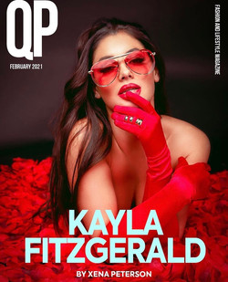 Kayla Fitzgerald For QP Magazine