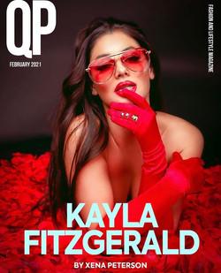 Kayla Fitzgerald For QP Magazine