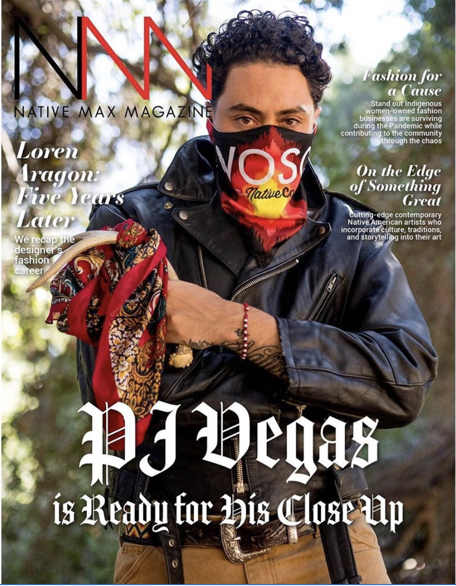 PJ Vegas for Native Max Magazine