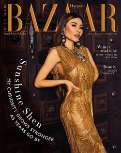 Sunshine Shen For Harper's Bazaar Vietnam