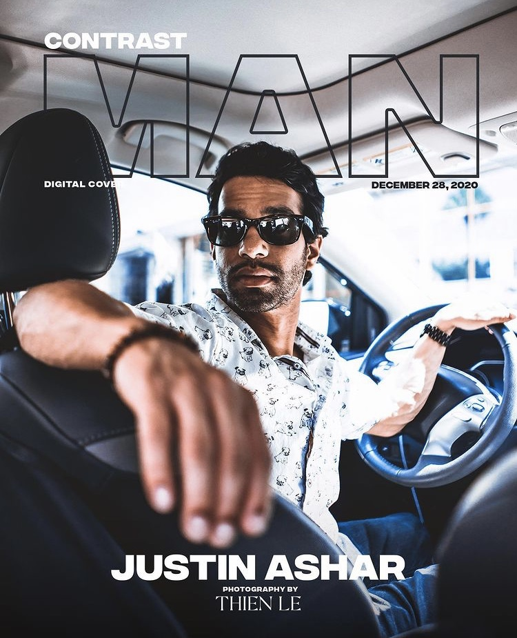 Justin Ashar For Contrast Magazine