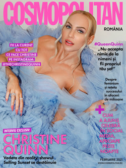 Christine Quinn For Cosmopolitan Romania