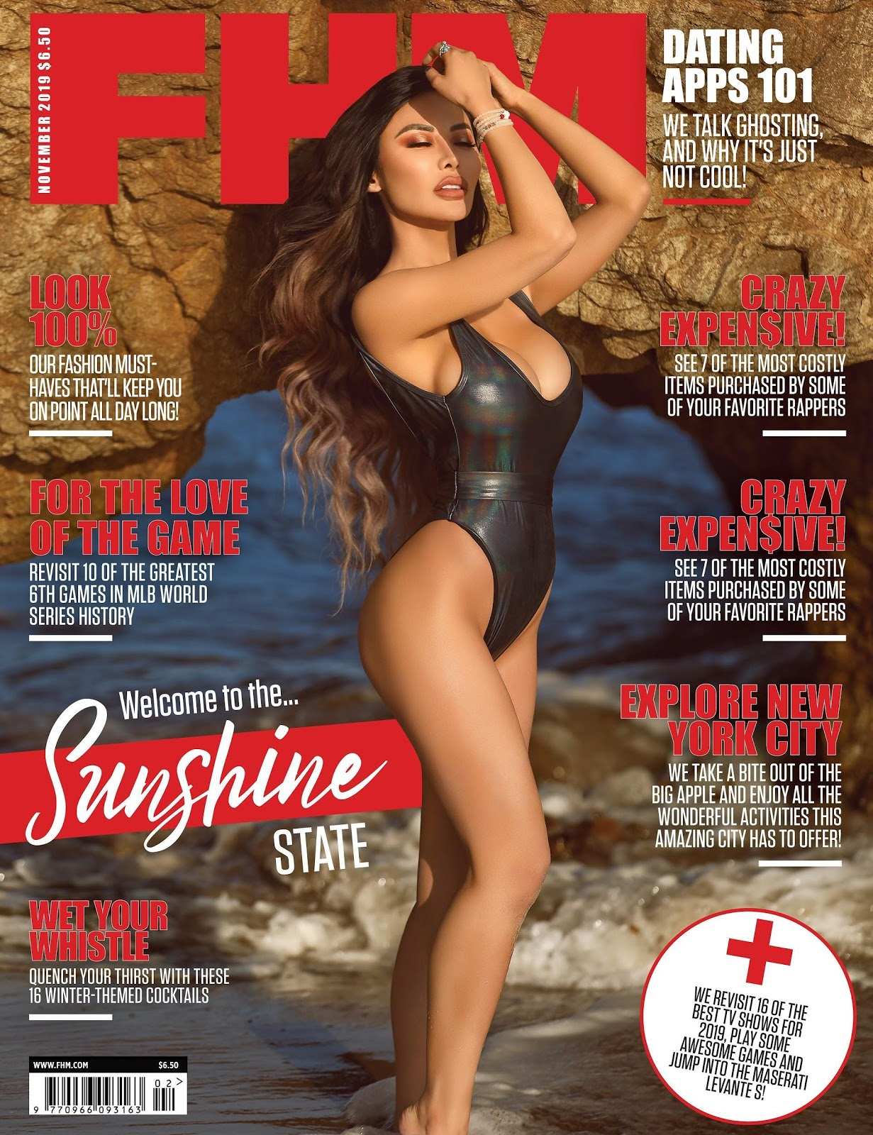 Sunshine Shen for FHM Magazine