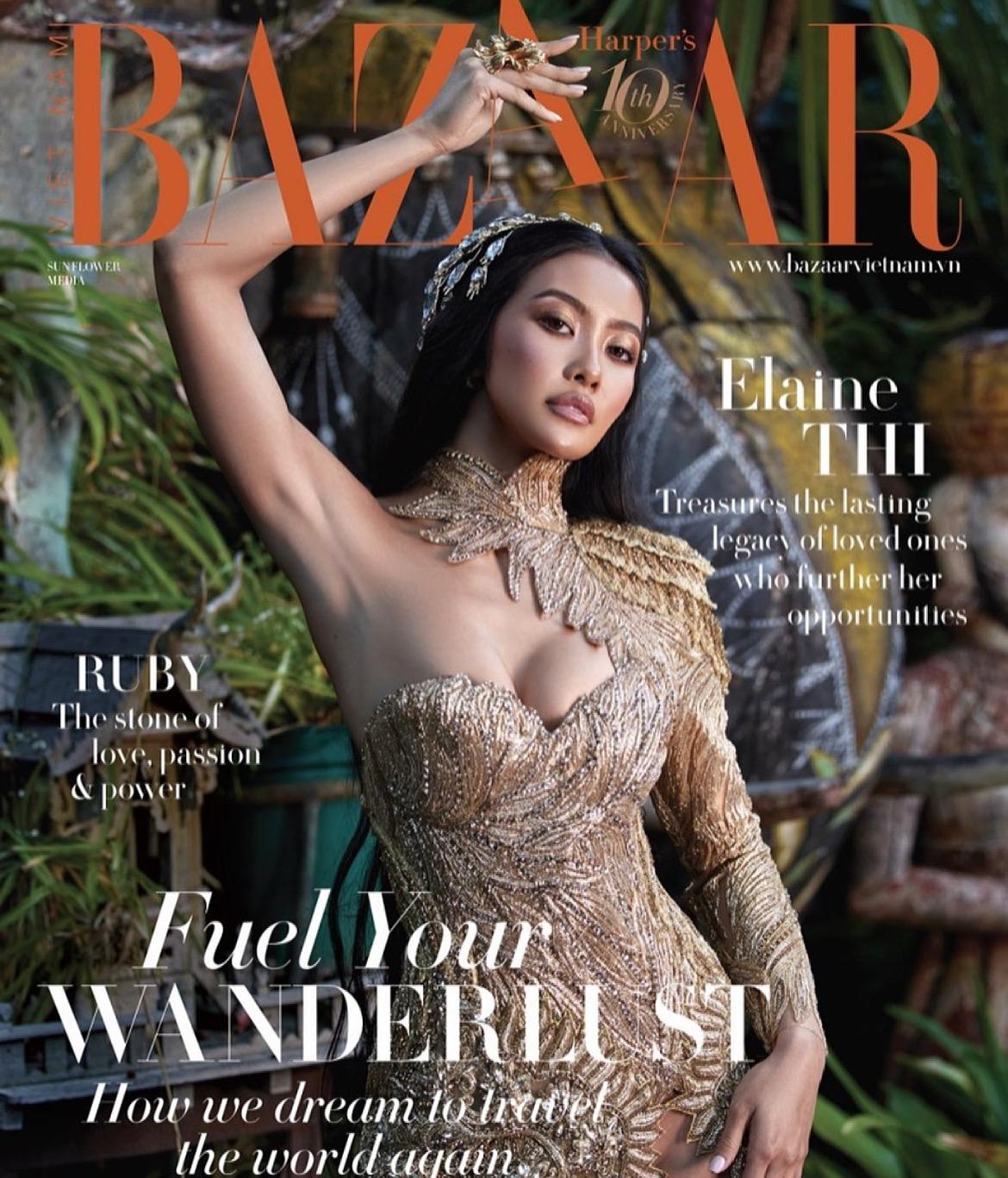 Elaine Thi For Harper's Bazaar Vietnam