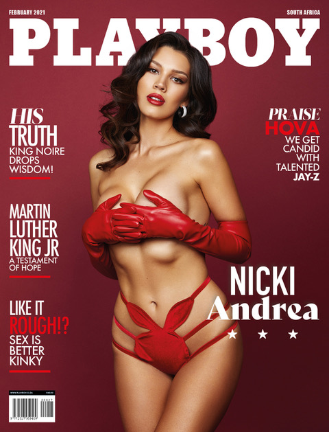 Nicki Andrea For Playboy