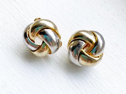Vintage Knot Style Earrings