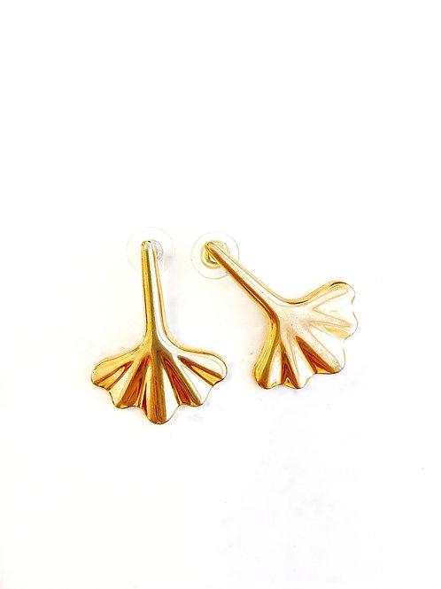 Vintage Fan Style Earrings
