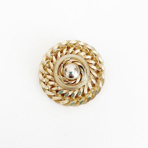 Vintage Round Brooch