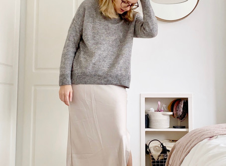 3 Ways to wear the slip skirt