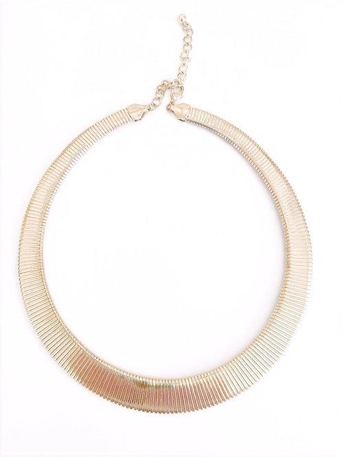 Vintage Gold Textured Collar