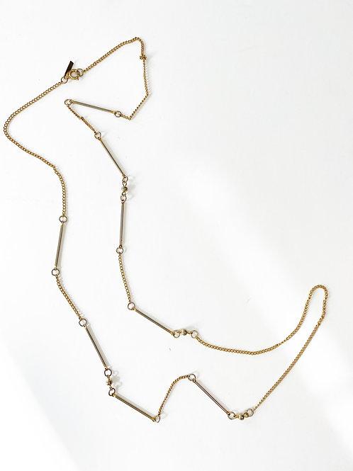 Vintage Bar Detail Long Chain