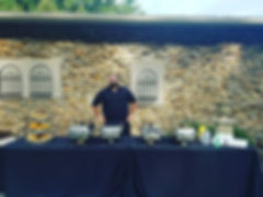 From back yard BBQ to Black Tie our Chef