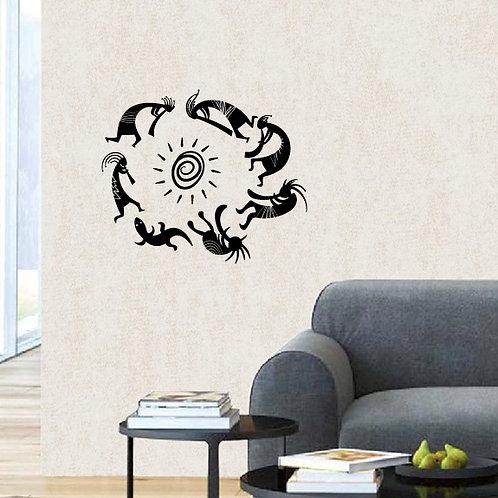 Circle of Music Wall sticker