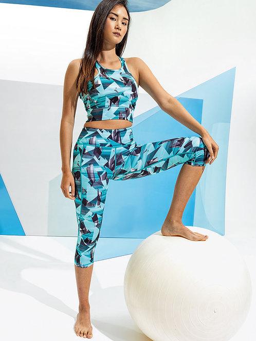 Women's TriDri® performance corners leggings ¾ length