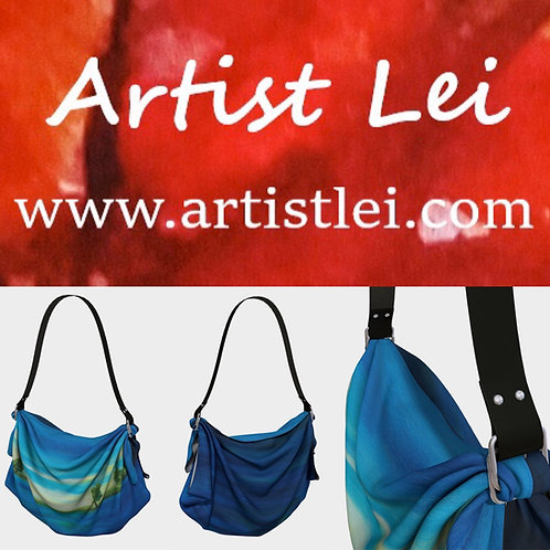 Deep Blue Sea Origami Tote Bag