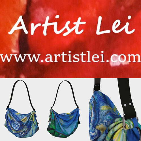 Starry Night Origami Tote Bag