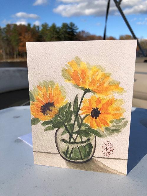 Three Amigos - Sunflowers
