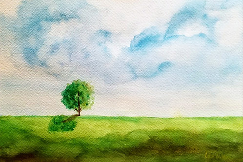 Spring is here  Original Watercolor Paintings