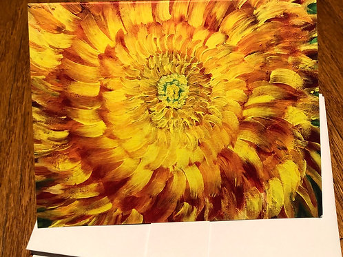 My Dahlia - Acrylic by Lei