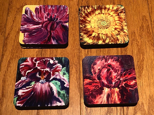 Set of 4 Artistic Coaster