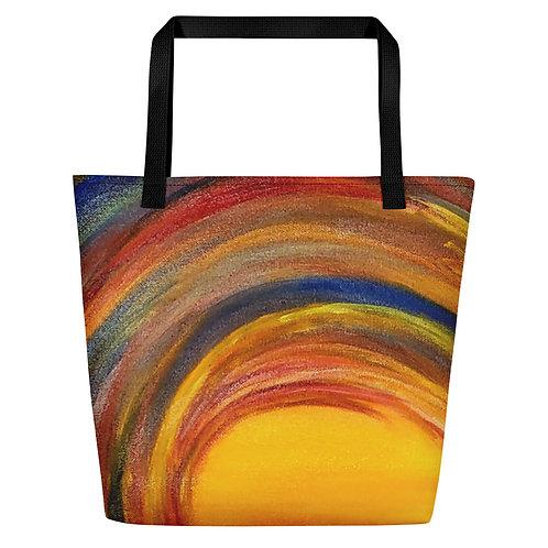 Ocean Wave Beach Bag