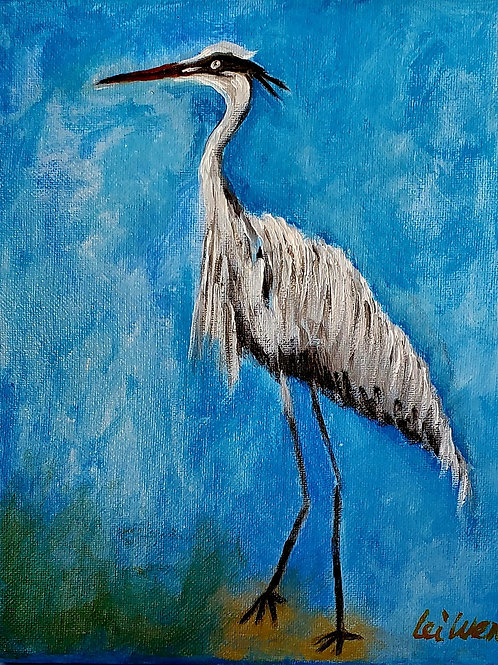 Egrets only