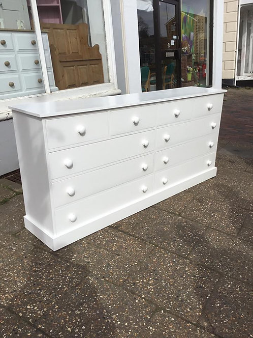 10 Drawer Painted Chest of Drawers