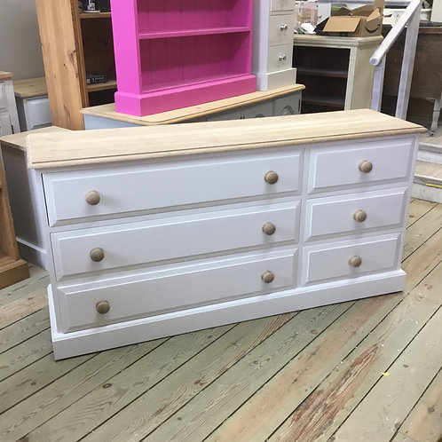 3 x 3 Painted Chest of Drawers