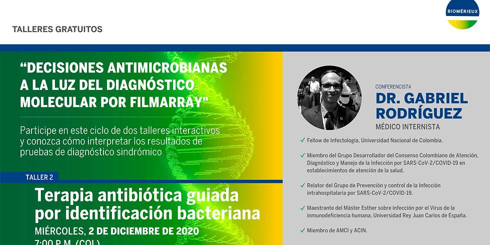 """""""Decisiones antimicrobianas a la luz del diagnóstico molecular por FilmArray"""""""