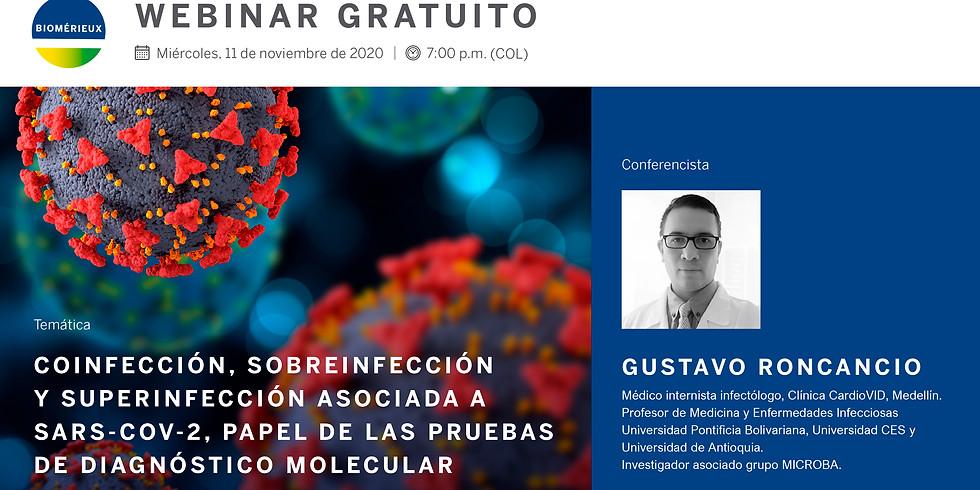 Coinfección, sobreinfección  y superinfección asociada a  SARS-CoV-2, papel de las pruebas de diagnóstico molecular