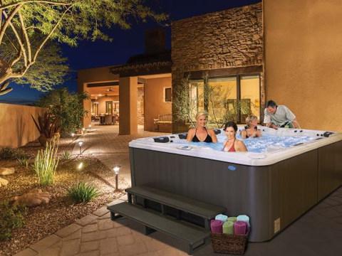 EC-948L-fun hot tub spa serenity home le