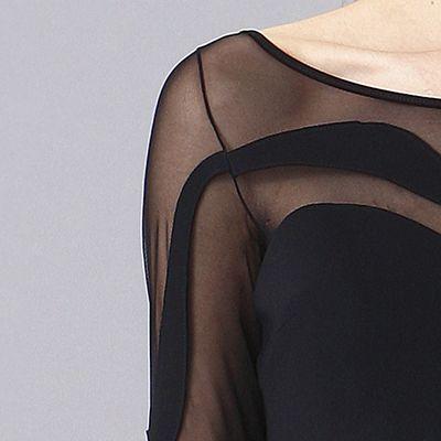 מיקי שרוני קולקצית חורף 2016 שמלת ערב לייקרה ושיפון 1