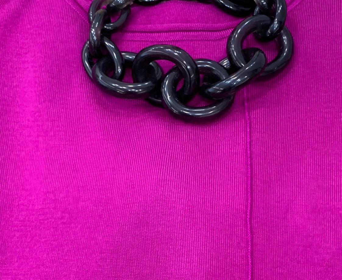 שרשרת צמודה לצוואר חוליות מרזין