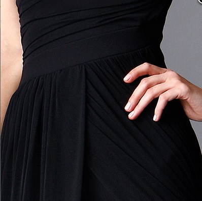 מיקי שרוני קולקצית חורף 2016 שמלת ערב ארוכה עם שיפון 2