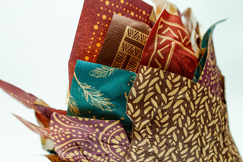 Fall Paper Pot Cover Collection