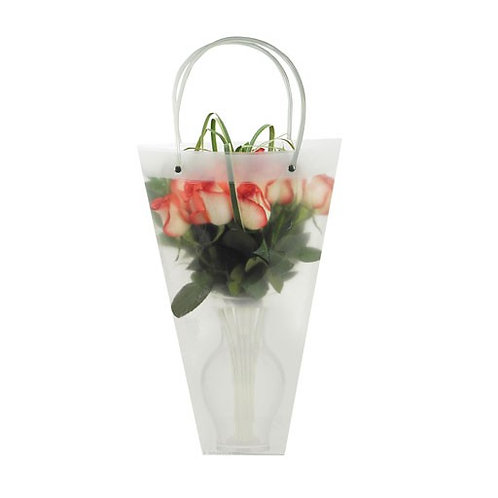 "Flora Pack Conical Vase Bag Clear- 18"" and 24"""