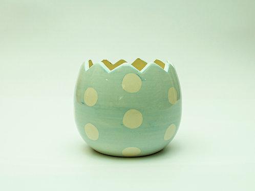 Easter Egg Ceramic Container