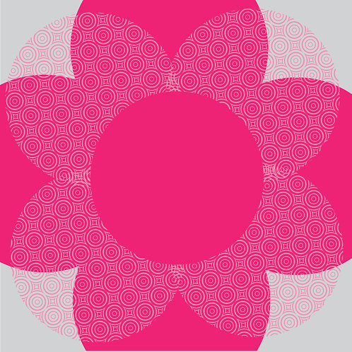 "Flora Pack Pirouette Printed Sheet- 24"" x 24"""