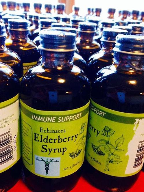 Elderberry Syrup Quart Jar