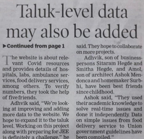 Times of India Newspaper - Part 2