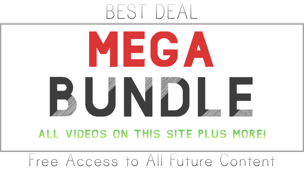 MEGA BUNDLE (Include everything on this site and more!)
