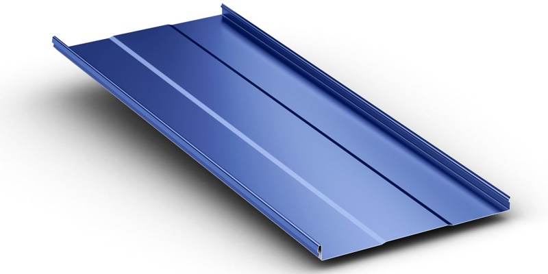 Instaloc a Snap-Together Standing Seam System