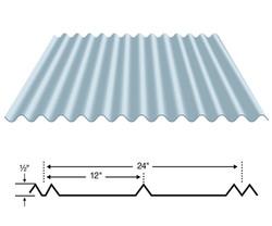 1 1/4 Corrugated Metal Panels