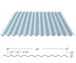 2 1/2 Corrugated Metal Panels