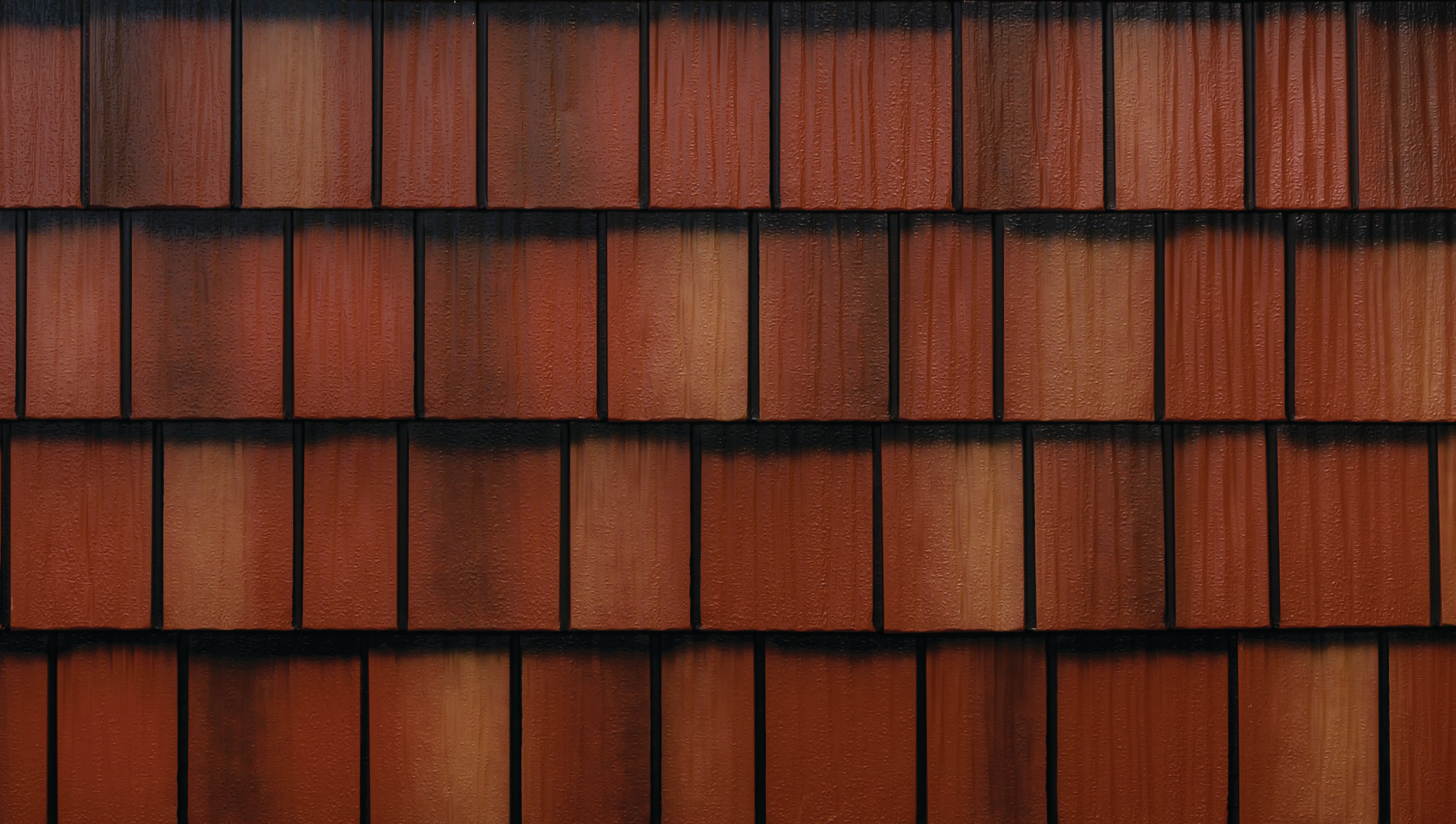 Shake Metal Roofing - Classic Red