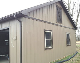 metal siding board and batton