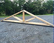 wooden-truss
