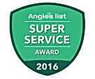 Angie's List Reward for Air duct cleaning 2016